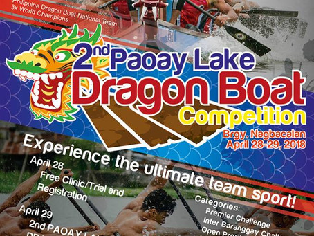 Waking Up Paoay Lake: The 2nd Paoay Lake Dragonboat Competition
