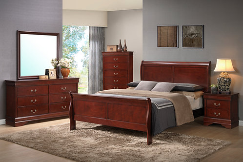 Louis Philippe II Bed