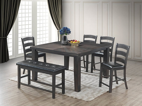 Brakenridge Grey Dining Set