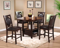 D1526 Parlin Round Counter Dining Set