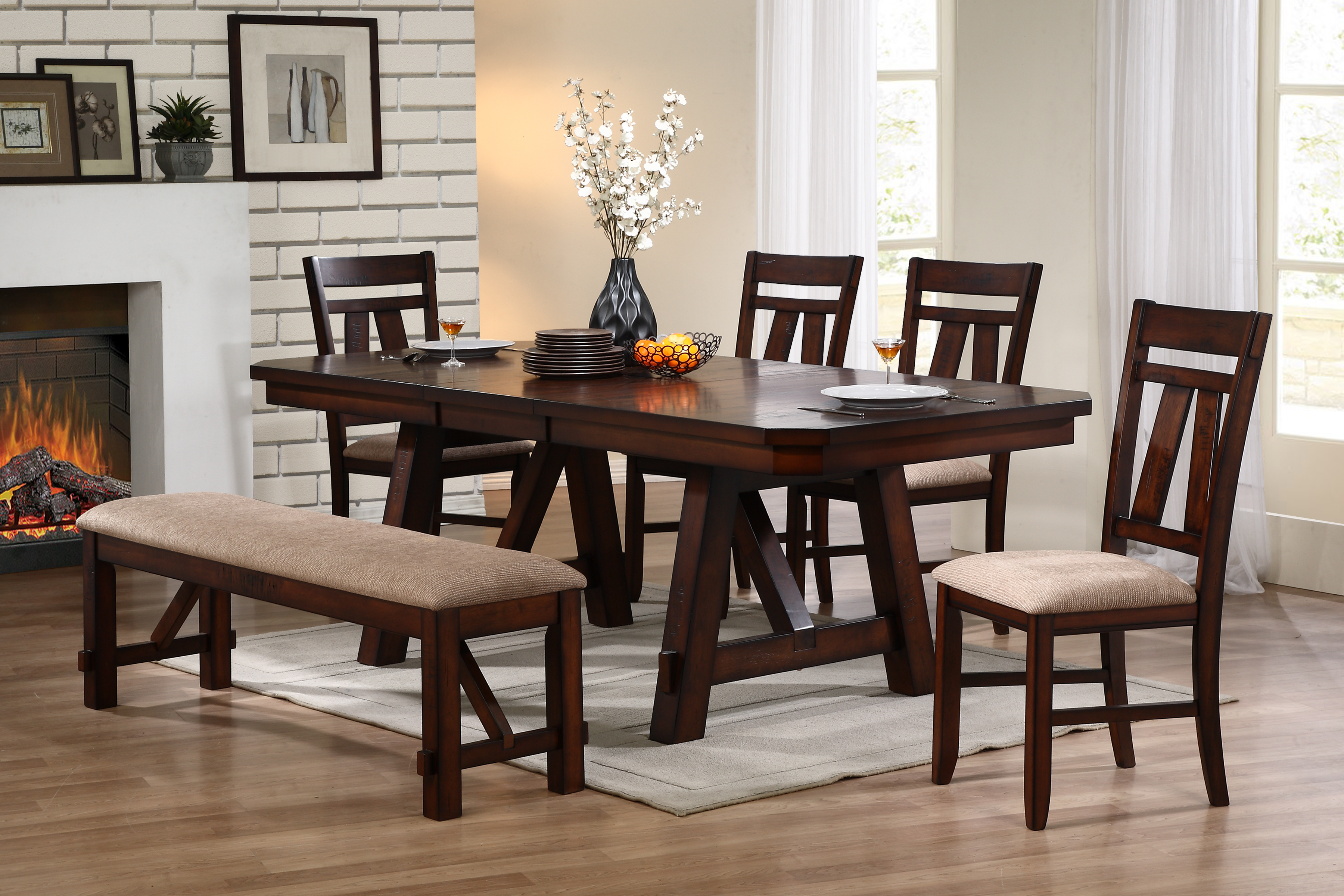 D1678 Littlefield Dining Table Set