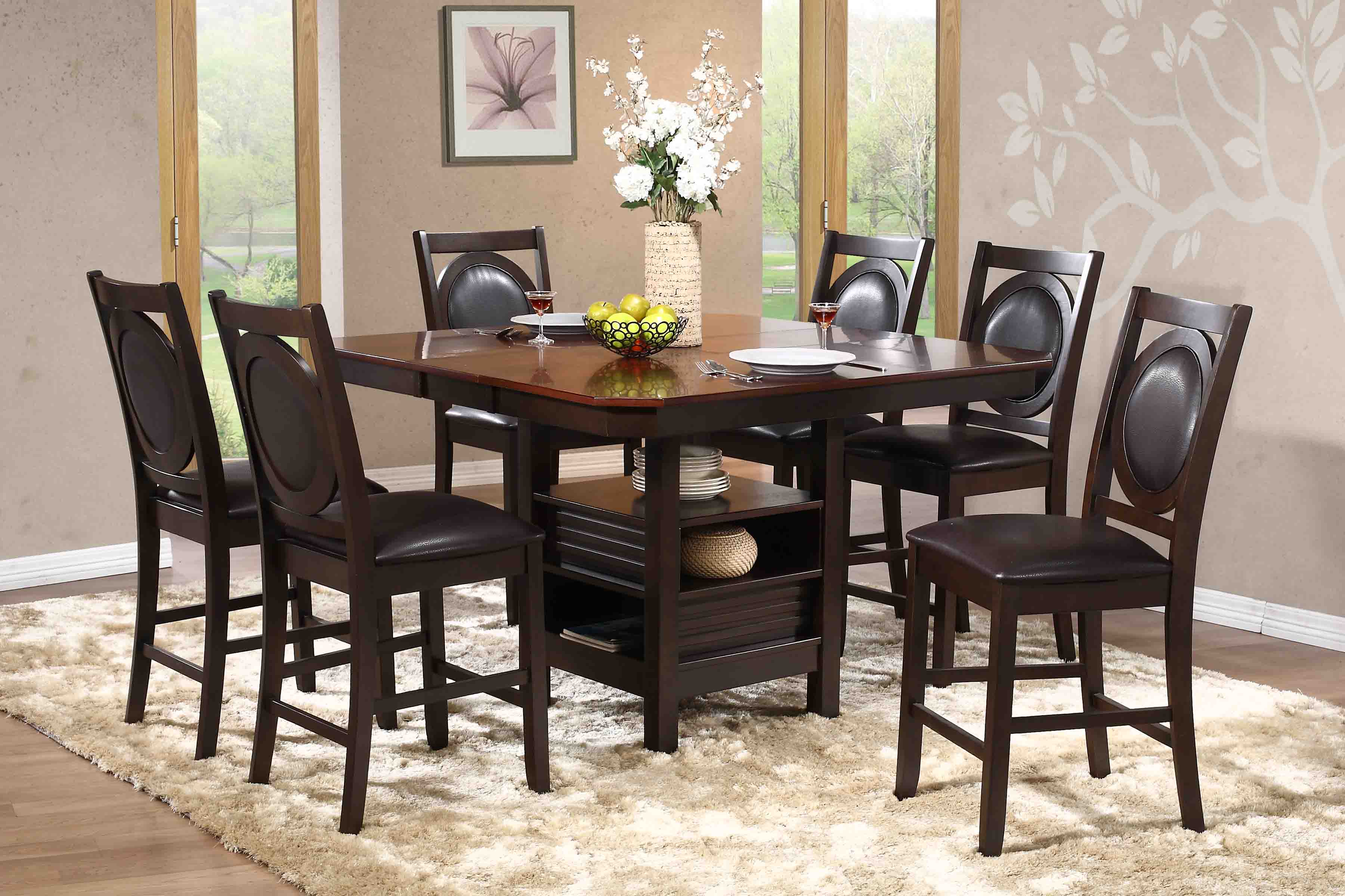 D1525 Parlin Counter Dining Set