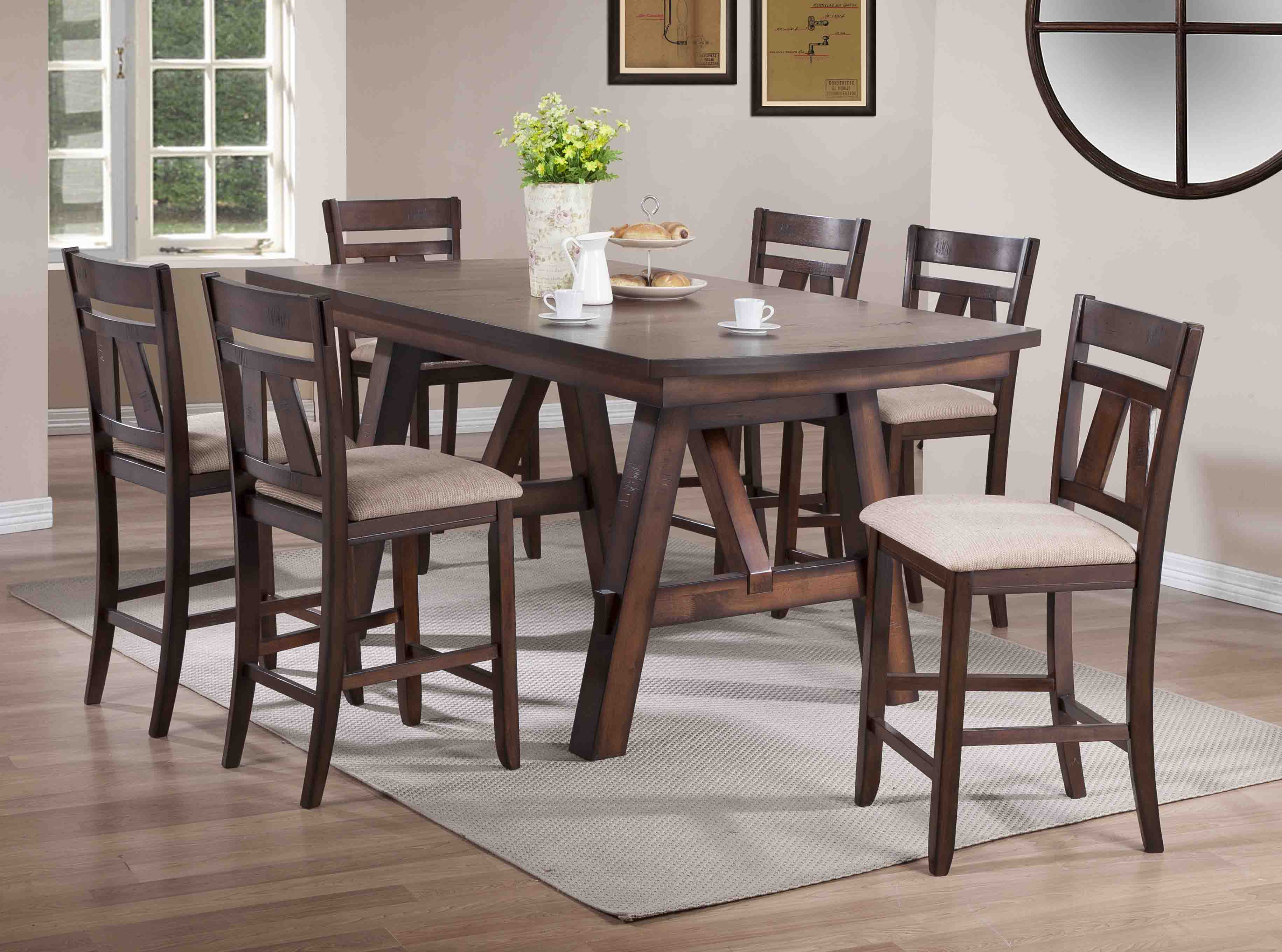 D1676 Littlefield Counter Table Set