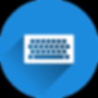 Keyboard Typing Data Entry הקלדת נתונים קלדן מקלדת
