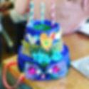 Dreamy cake hats a la _imakestagram agai