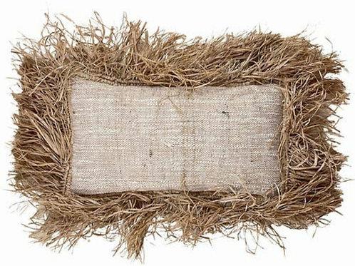 Latifa oat cushion cover