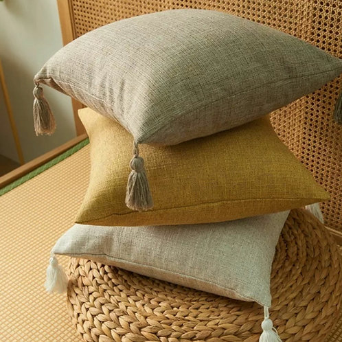 Mocha Tia cushion cover