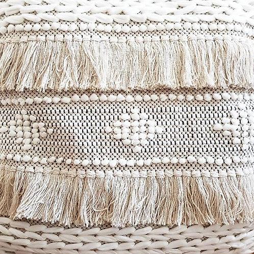 Handwoven Fringe cushion cover