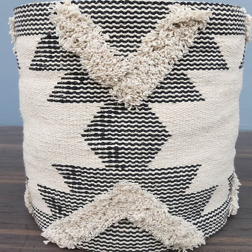 Diamond cut basket