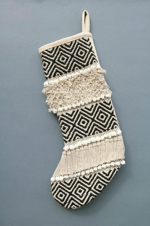 Aztec Christmas stocking