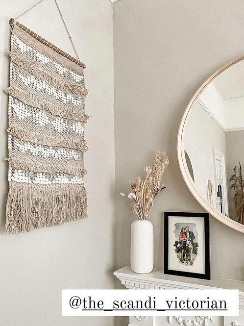 Pre-order Boho fringe wall hanging