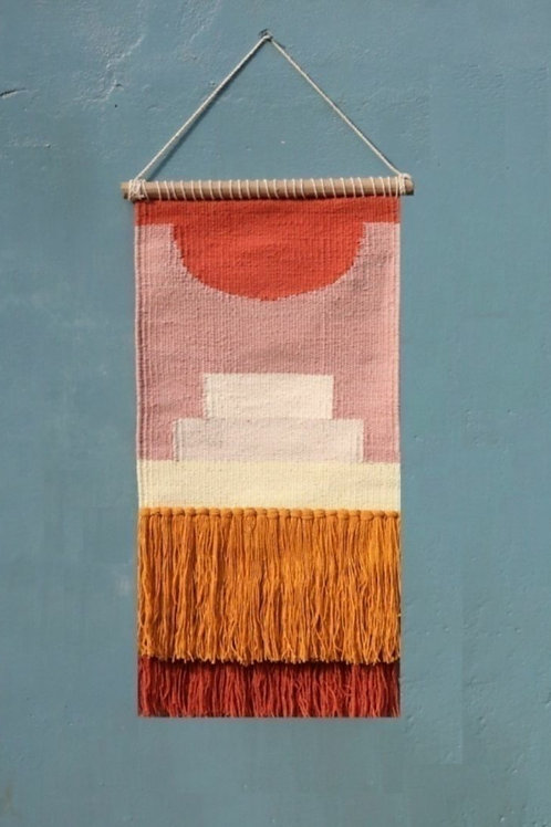 Pre order Sunset wall hanging