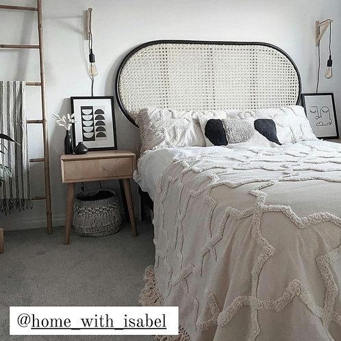 Boho bedspread and pillow set