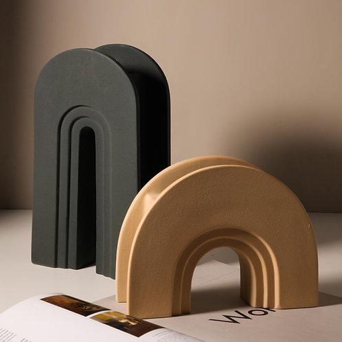 Ceramic Arch Vases.