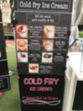 Singapore Bake a joy, A Spoonful of Sugar Outdoor cold fry live station service