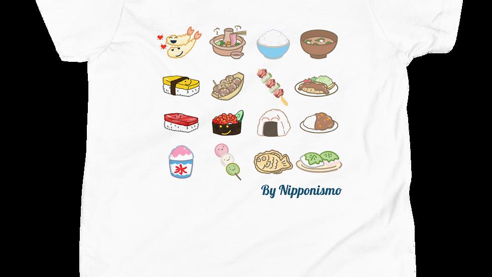 Camiseta para niños Comida Japonesa Lover