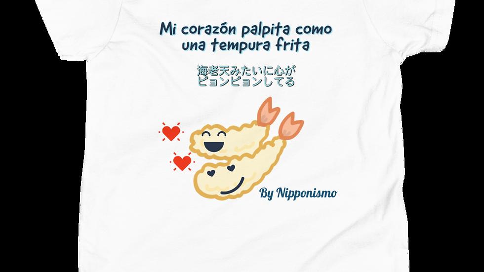 Camiseta para niños Tempura Lover