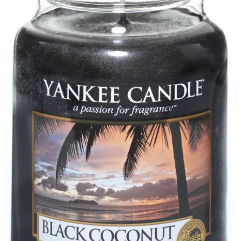 Black Coconut (medium/large) Yankee Candle