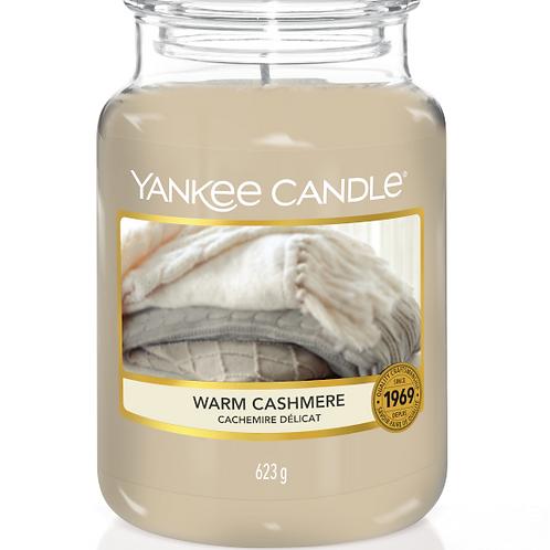 Warm Cashmere (medium/large) Yankee Candle