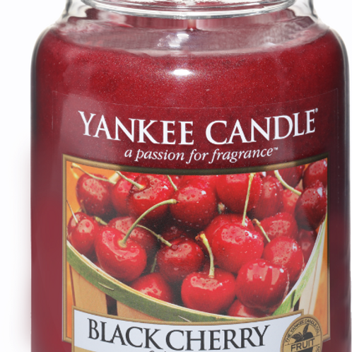 Black Cherry (medium/large) Yankee Candle