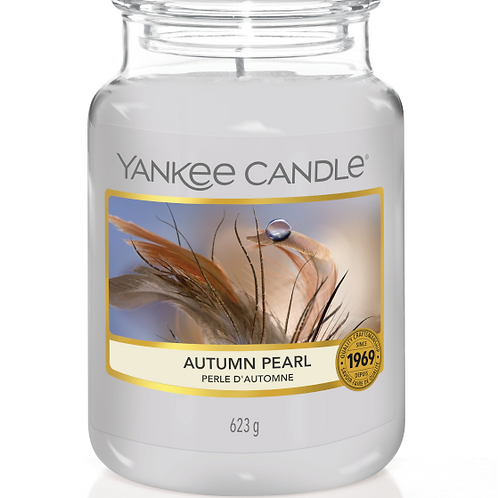 Autumn Pearl (medium/large) Yankee Candle