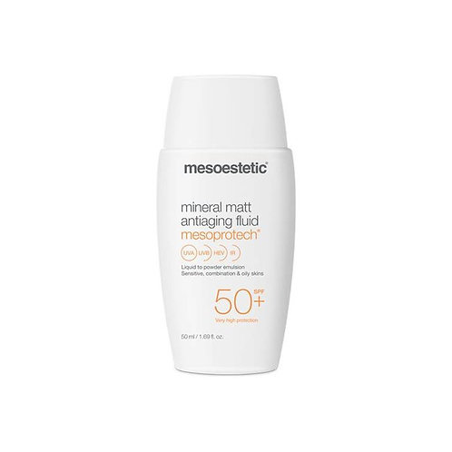 Mesoestetic Mesoprotech Mineral Matt Antiaging Fluid 50+ 50ml