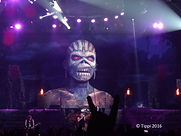 Iron Maiden Book of Souls Stage