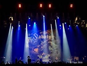 Sabaton Bühnenbild Rock im Revier