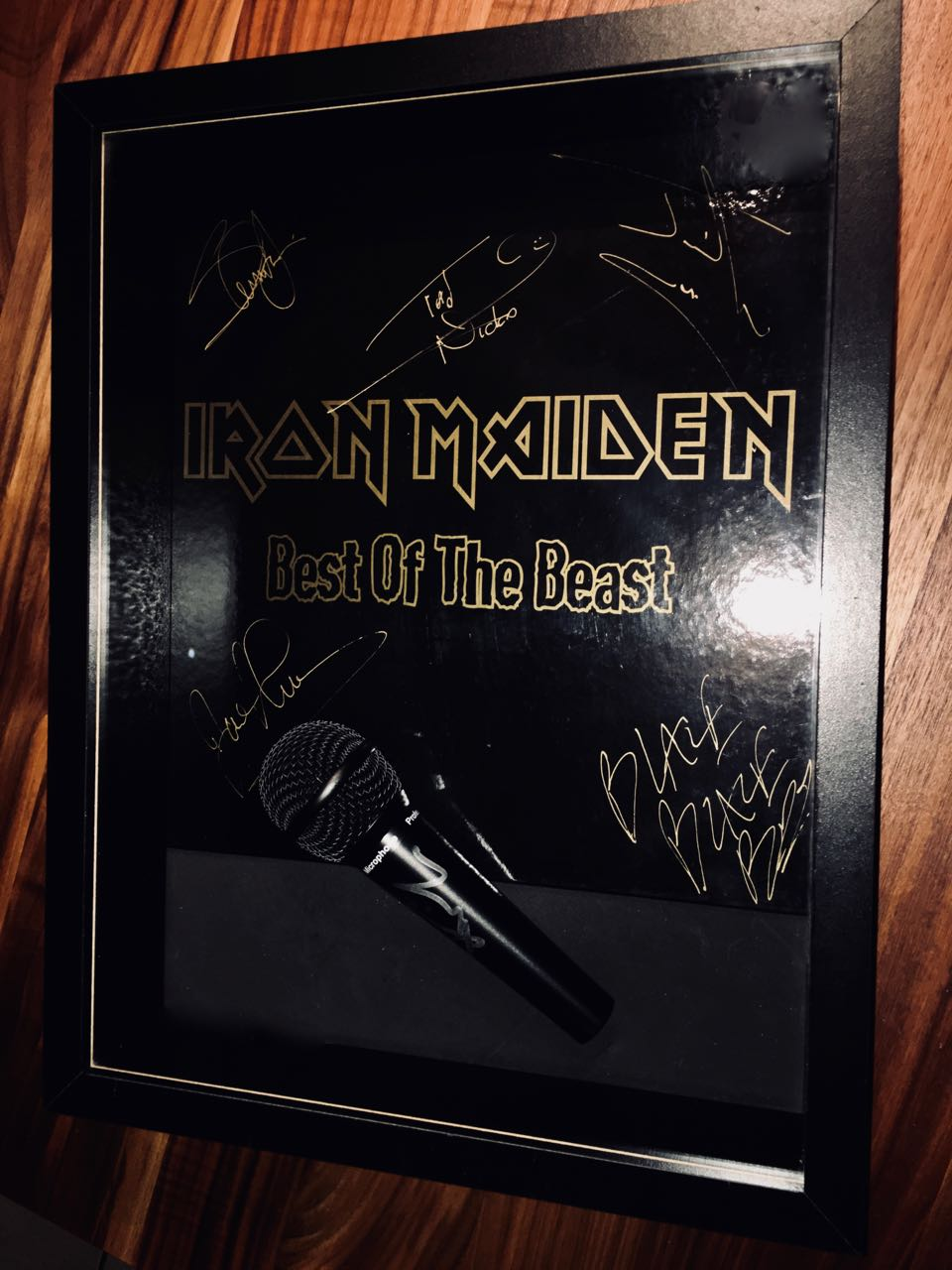All Maiden signed Micro and Beast