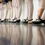 Tippen Tanzklasse