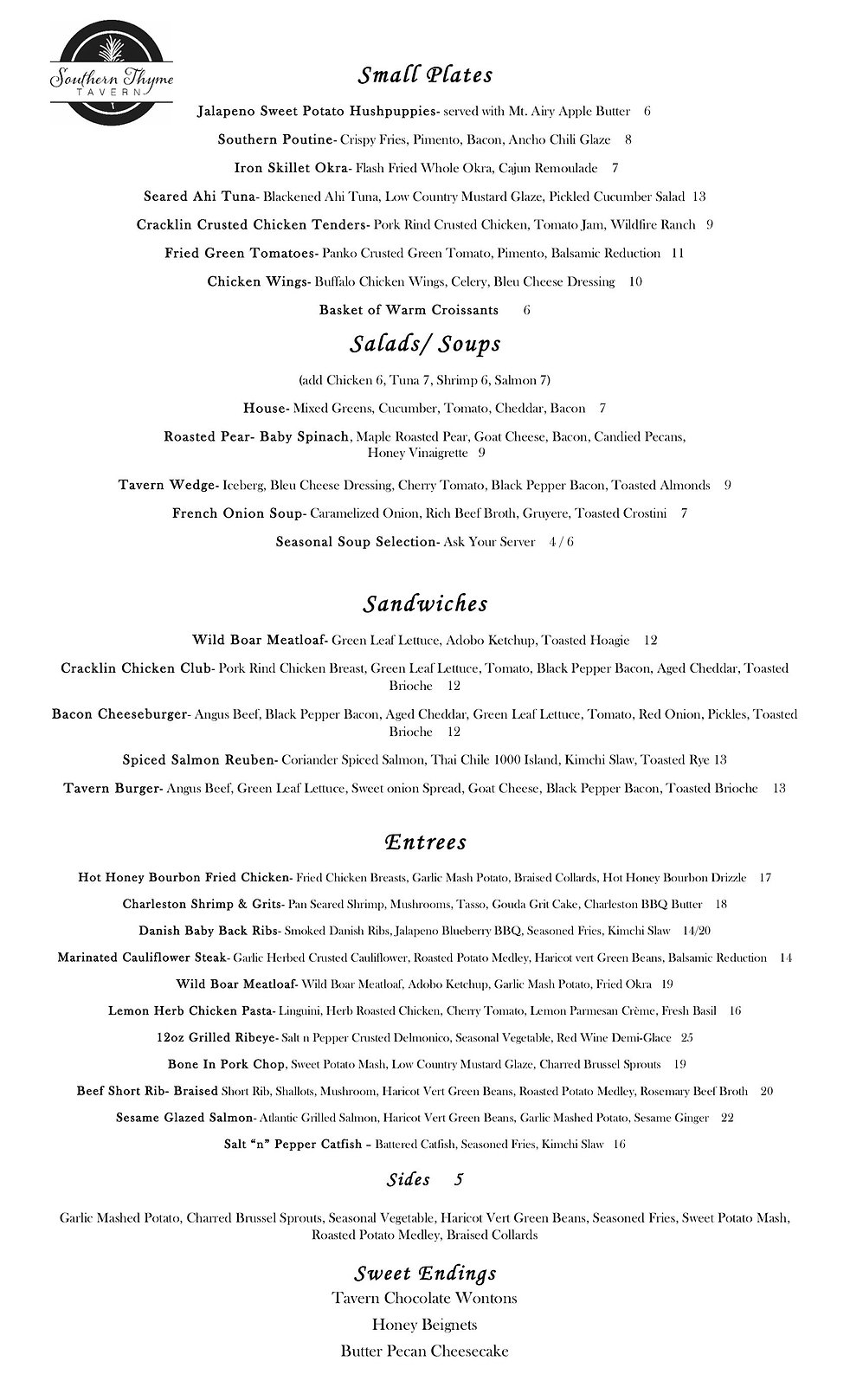 Southern Thyme Tavern Menu 8.5 x 14.jpg