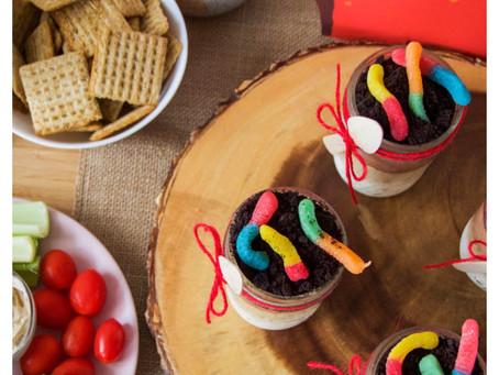 Timon & Pumba inspired sundae