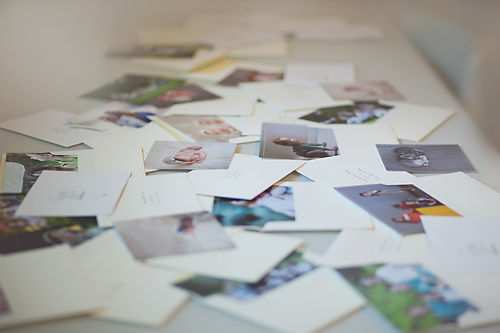 Photography Portraits mailed to photography clients as a free gift