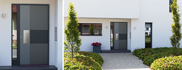 Moderne Tür Seitenteil L