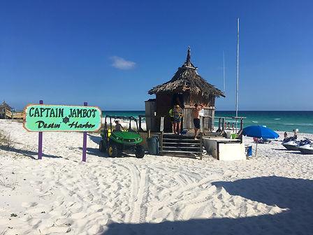 Parasailing Destin Beach Hut
