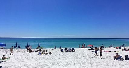 Destin FL Parasailing on Beach View