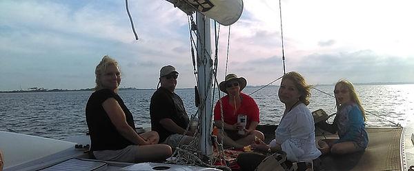 Private Sunset Trip on Catamaran Boat Tour Destin Florida