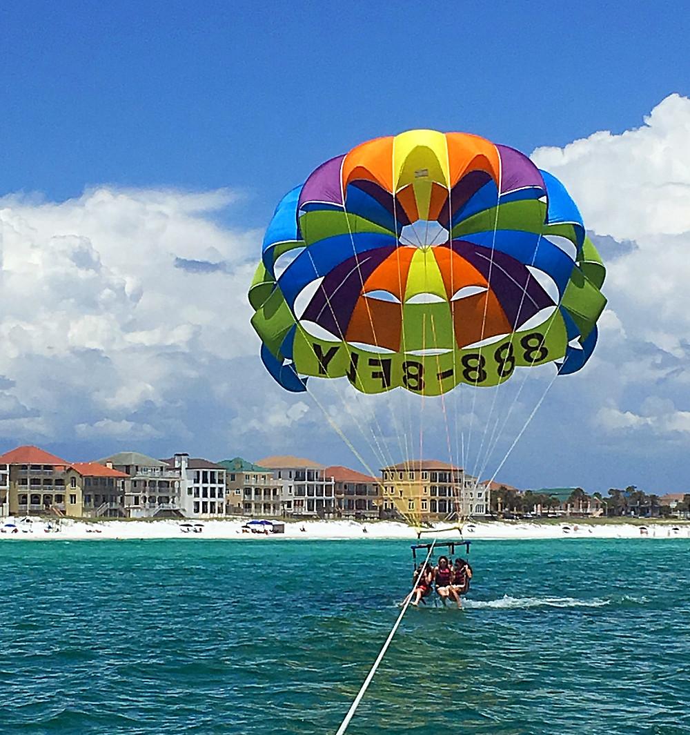 Parasail by Beach, Destin FL
