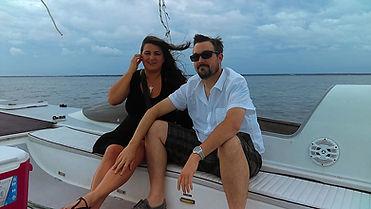 Sailing in Destin FL Catamaran