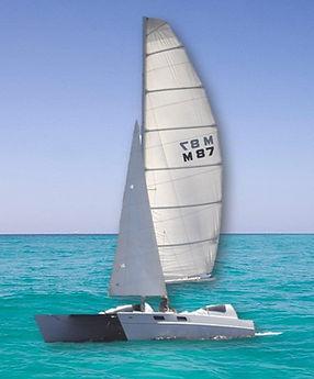 Catamaran Sailboat, Sailing in Destin, Florida