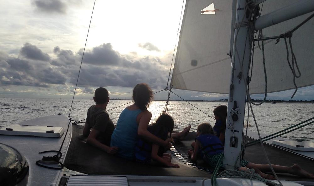 Family Sunset Sailing Destin, FL