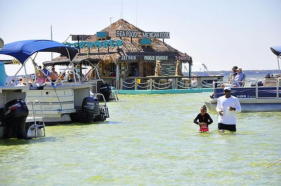 Destin Crab Island Tours