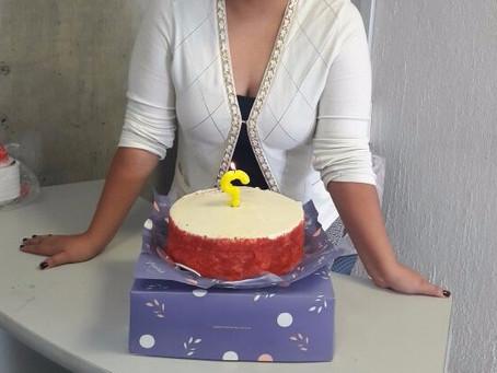 Me da miedo el pastel