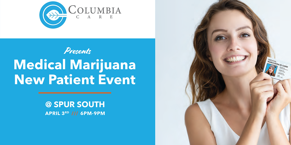Medical Marijuana New Patient Event