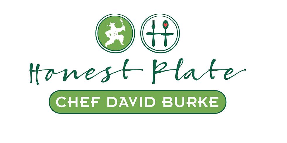 Chef David Burke and Honest Plate Garden Dinner Party