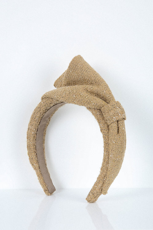 Basket Weave Bow Headband