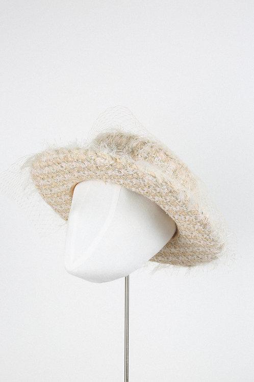 Shimmery Fantasy Boater Hat