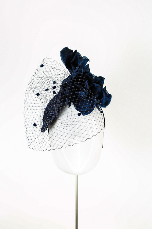 Midnight Tweed Hat