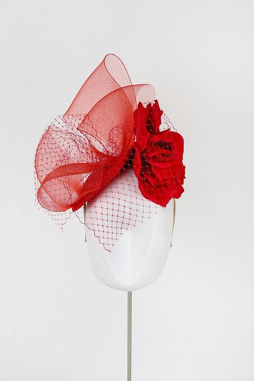 Scarlet Lace Hat