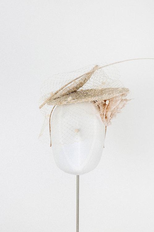 Shimmery Tweed Hat